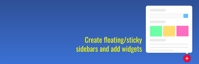 Ultimate Floating Widgets – Make popup sidebars
