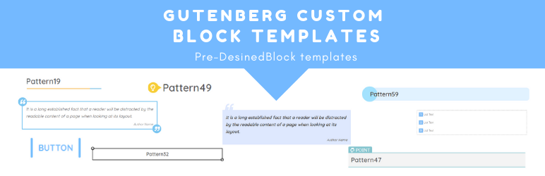 Ultimate Gutenberg – Custom Block Templates