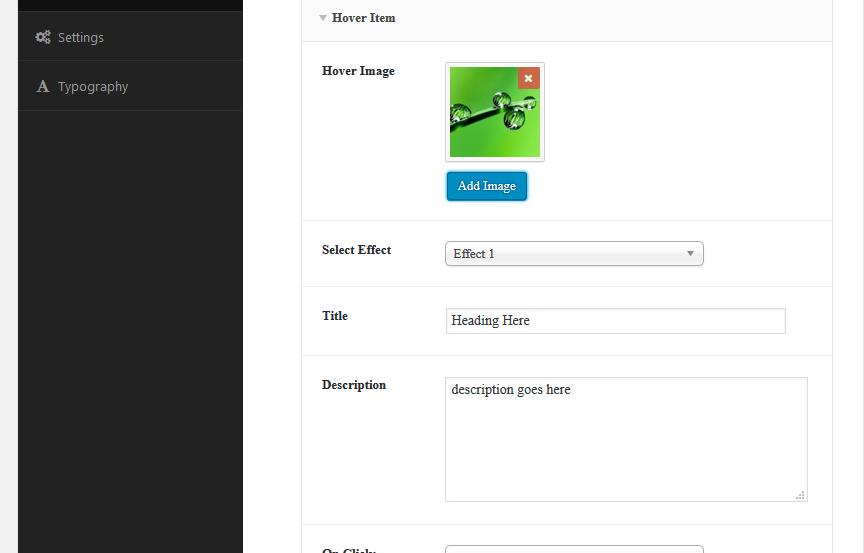 Ultimate Hover Effects – WordPress plugin | WordPress org