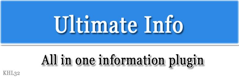 Ultimate Info