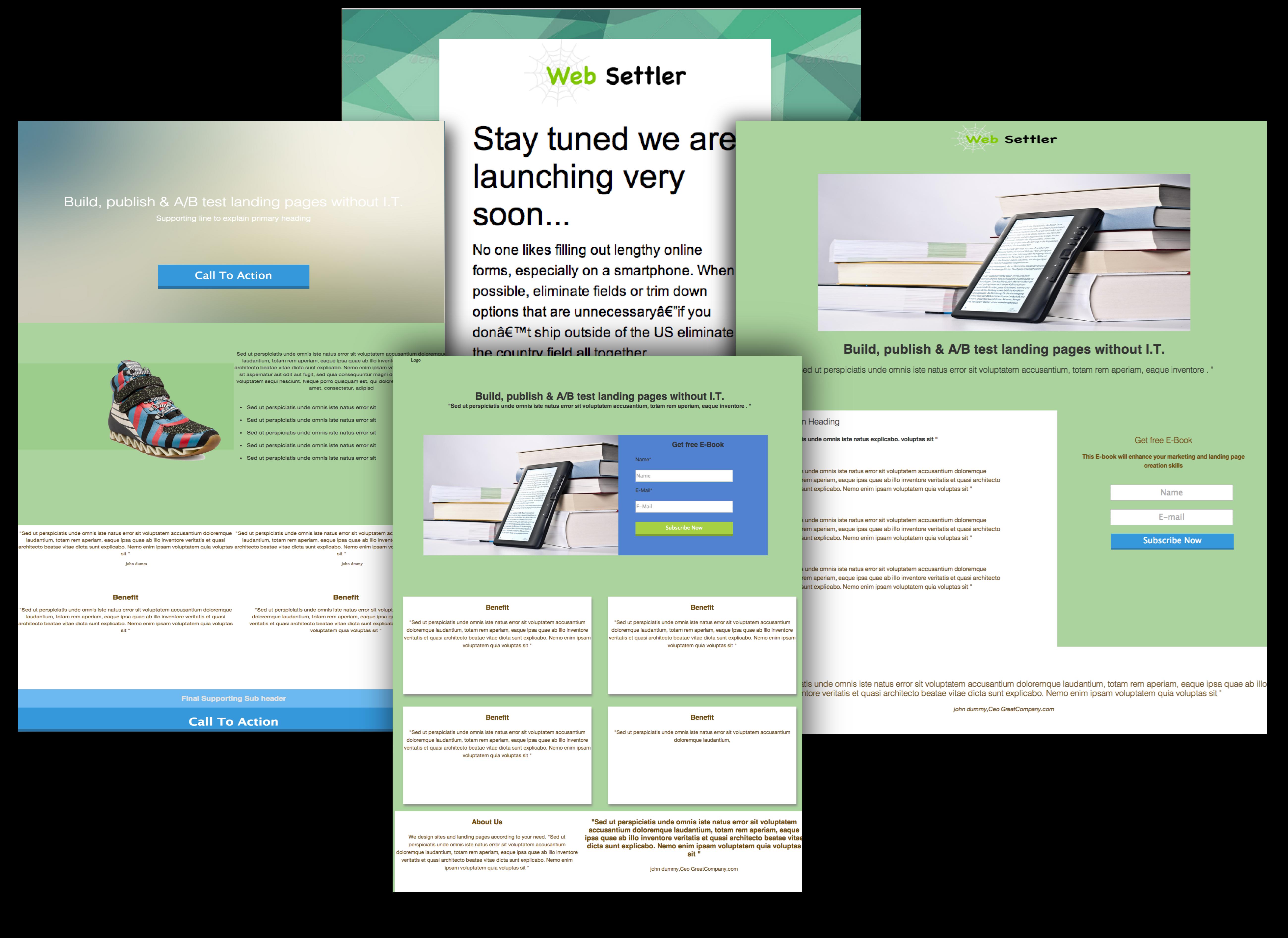 free landing page templates for wordpress - landing page builder free landing page templates
