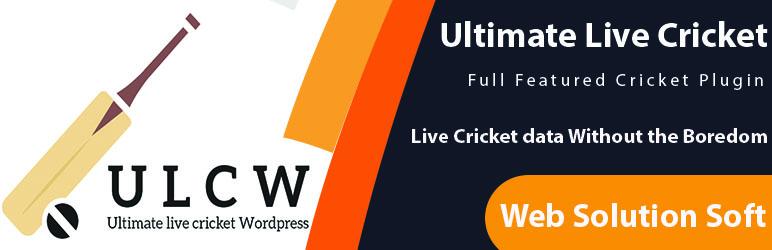 ultimate live cricket wordpress lite