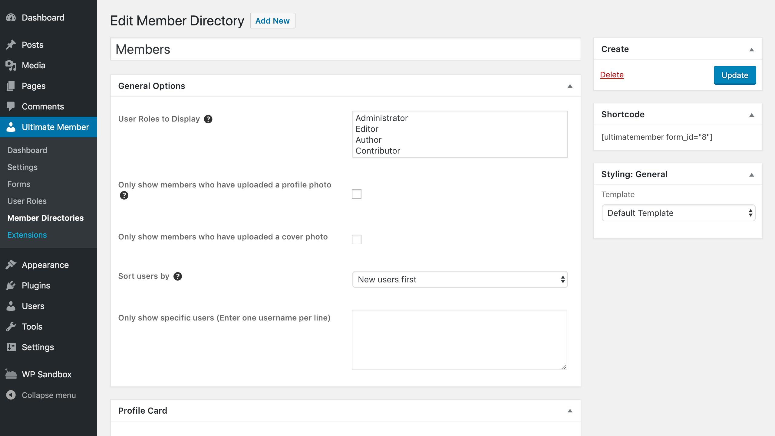 Ultimate Member User Profile Membership Plugin Extension