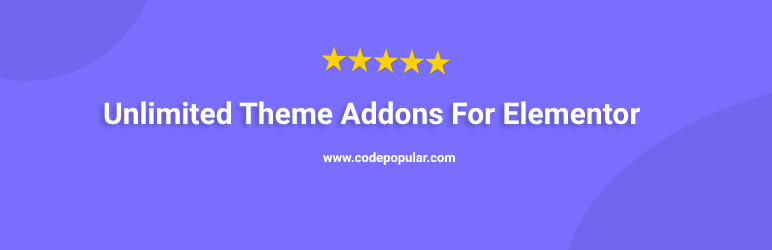 Unlimited Theme Addons For Elementor