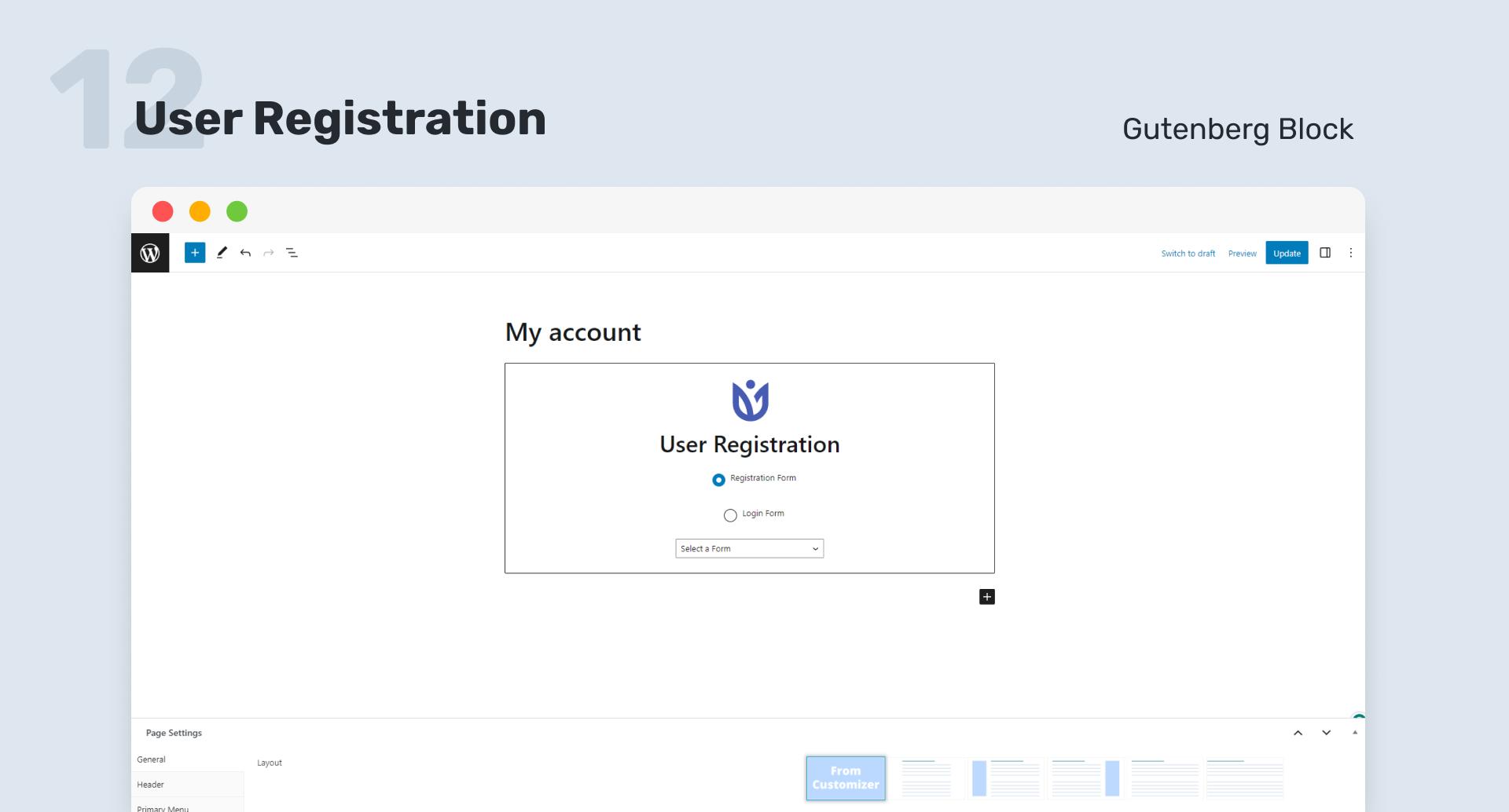 【汉化插件】WordPress自定义登录注册表格,登录名和用户个人资料 User Registration v 1.9.3-WordPress汉化资源