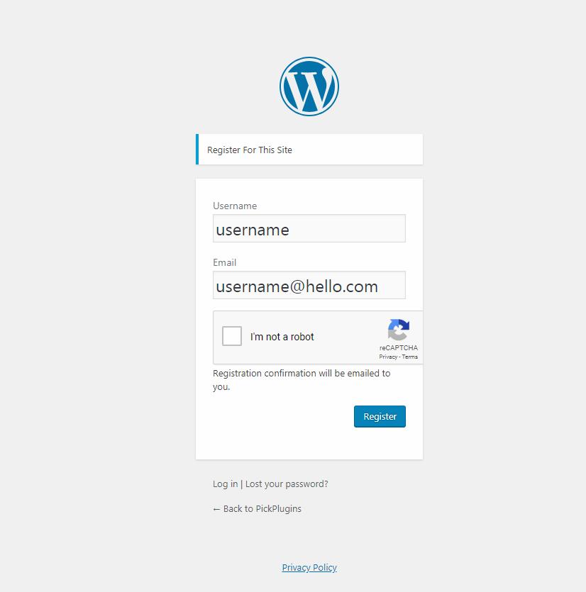 User Verification – WordPress plugin   WordPress org