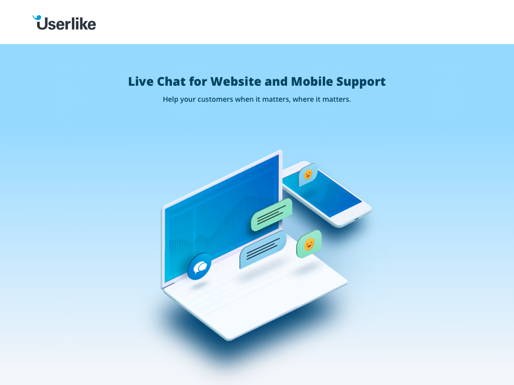 Live Chat for Website and Mobile Support