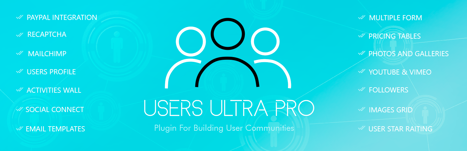 Users Ultra Membership, Users Community and Member Profiles With PayPal Integration Plugin