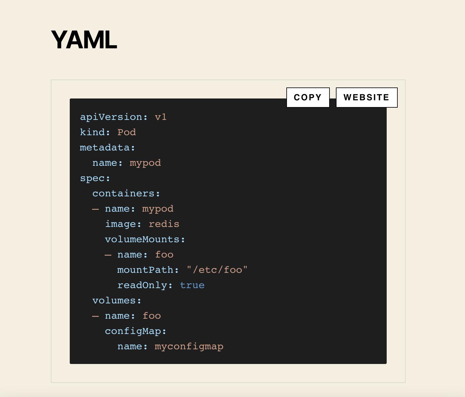 Visual Studio 2015 Theme: YAML Snippet