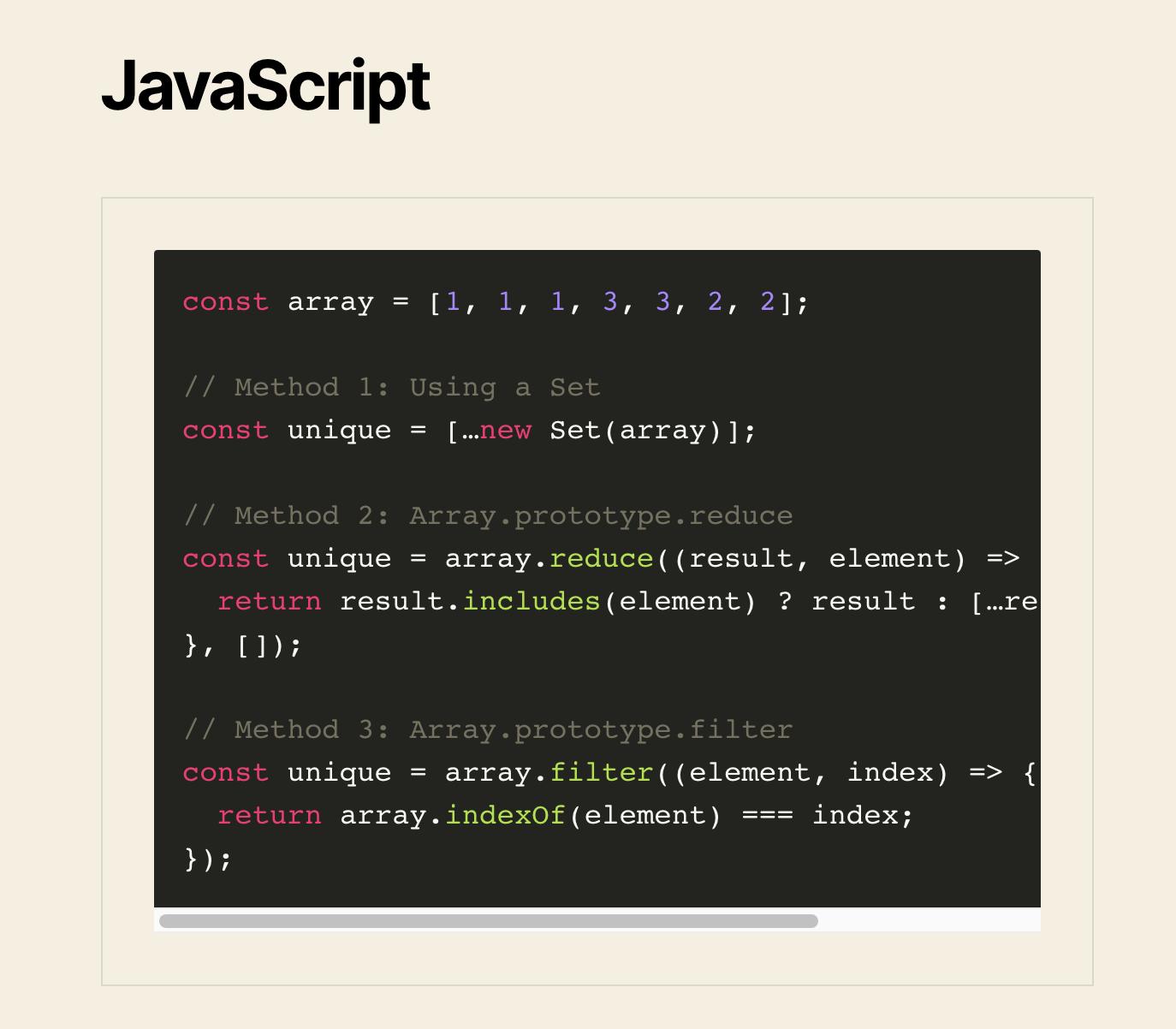 Sublime (Monokai) Theme: JavaScript Snippet