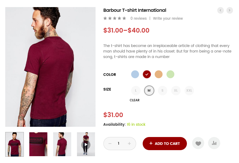 Wooswatches v2. 5. 0 – woocommerce color or image variation swatches.