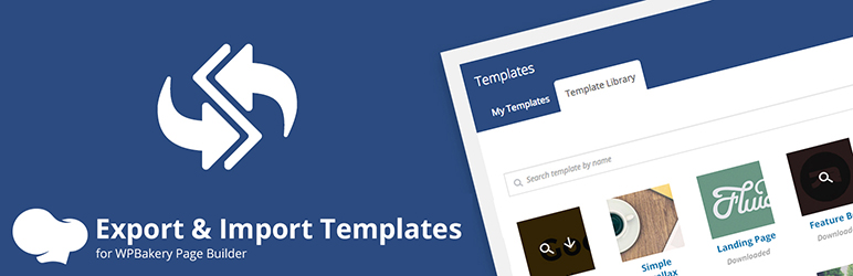 export  u0026 import templates for wpbakery page builder