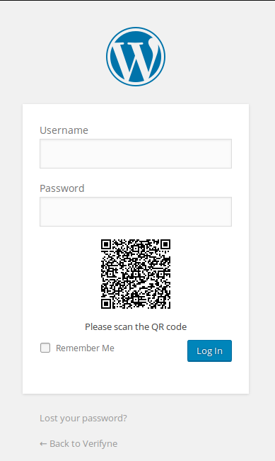 Scan the QR code and confirm on your smartphone to login