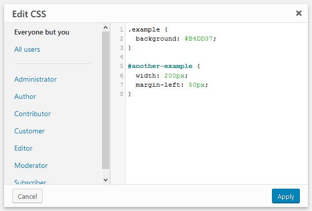 Add custom CSS to the WordPress admin