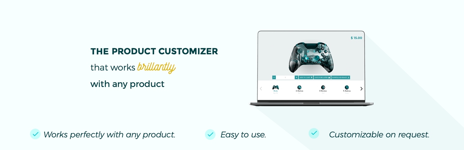 Visual Product Configurator for Woocommerce Lite – WordPress