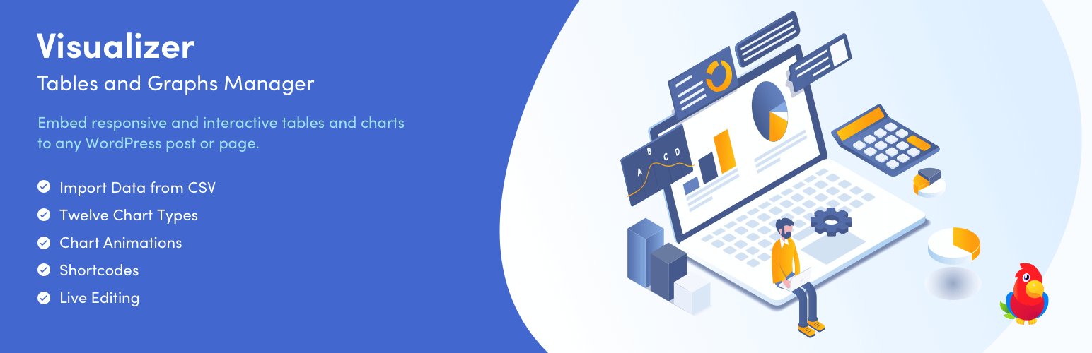 Visualizer: Tables and Charts Manager for WordPress – WordPress