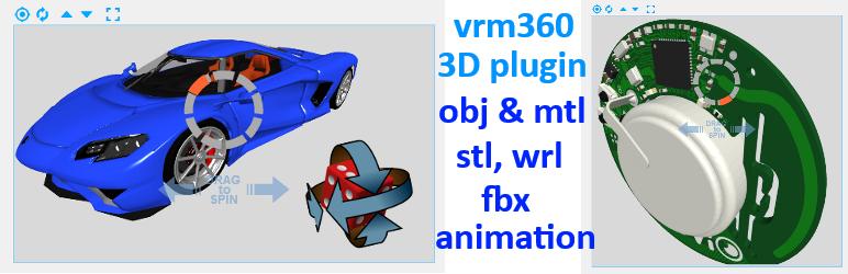 Vrm 360 3D Model Viewer – WordPress plugin | WordPress org