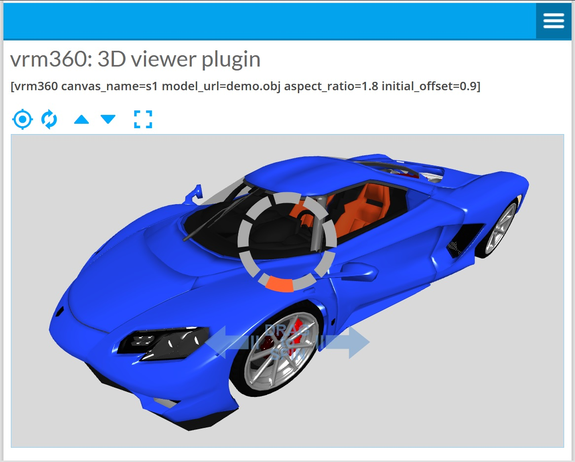 Vrm 360 3D Model Viewer – WordPress plugin | WordPress org
