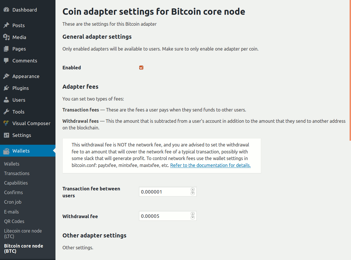 Bitcoin and Altcoin Wallets – WordPress plugin | WordPress org