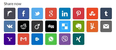 Wanapost Several Social Sharing Admin Panel