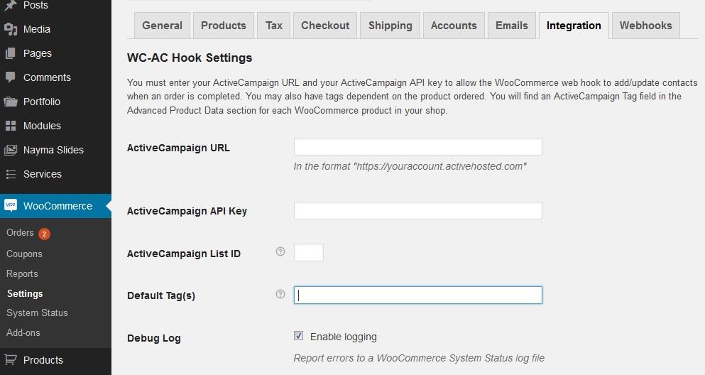 WC-AC Hook – WordPress plugin | WordPress org