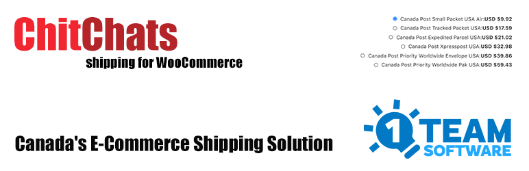 ChitChats Shipping for WooCommerce