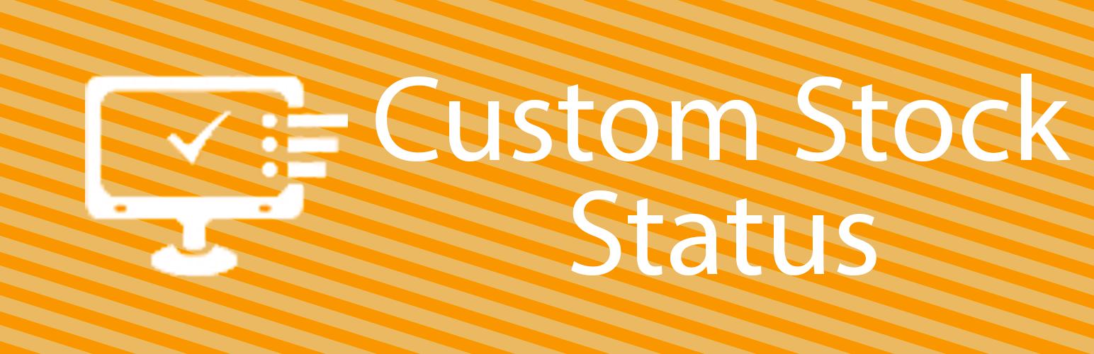 WooCommerce Custom Stock Status