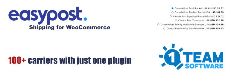 Multi-Carrier EasyPost Shipping Methods & Address Validation for WooCommerce