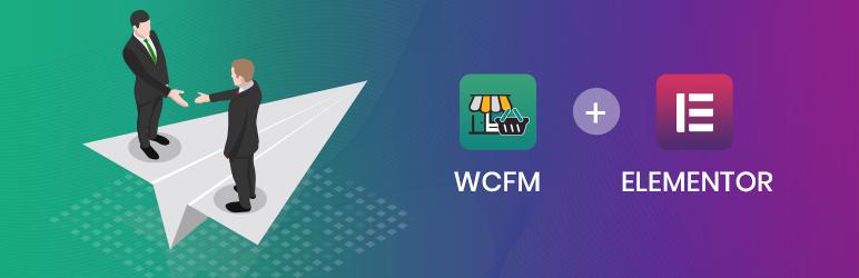 WCFM Marketplace Integrate For Elementor