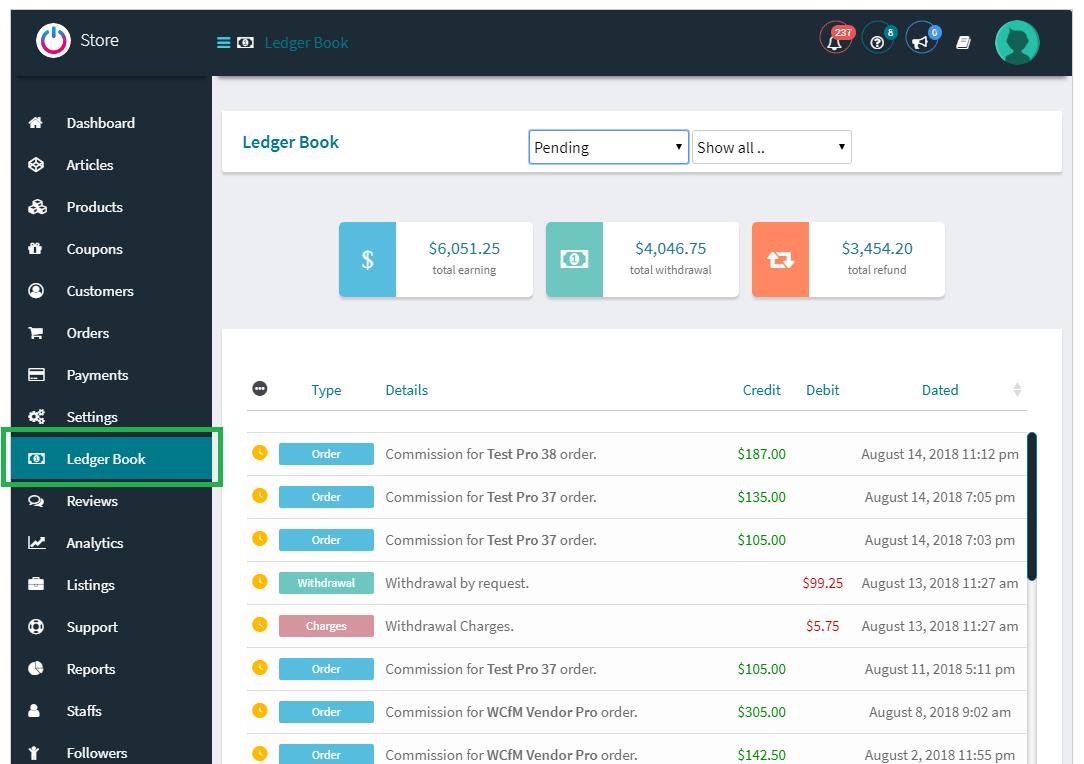 WCFM Marketplace – WooCommerce Multivendor Marketplace