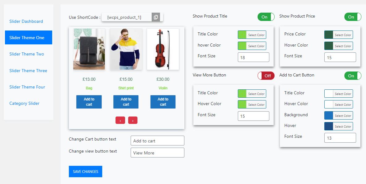 Woo Advanced Slider – 3D slider for Product & Category