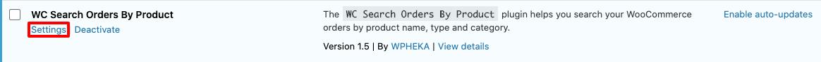 WooCommerce Orders admin.