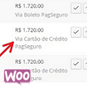 WC Show Method in Orders list for PagSeguro logo