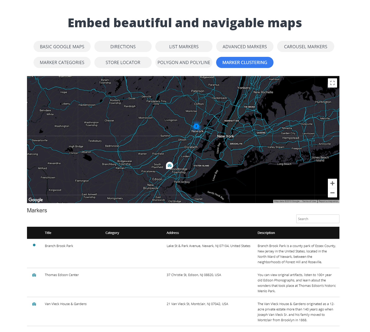 10Web Map Builder for Google Maps – WordPress plugin