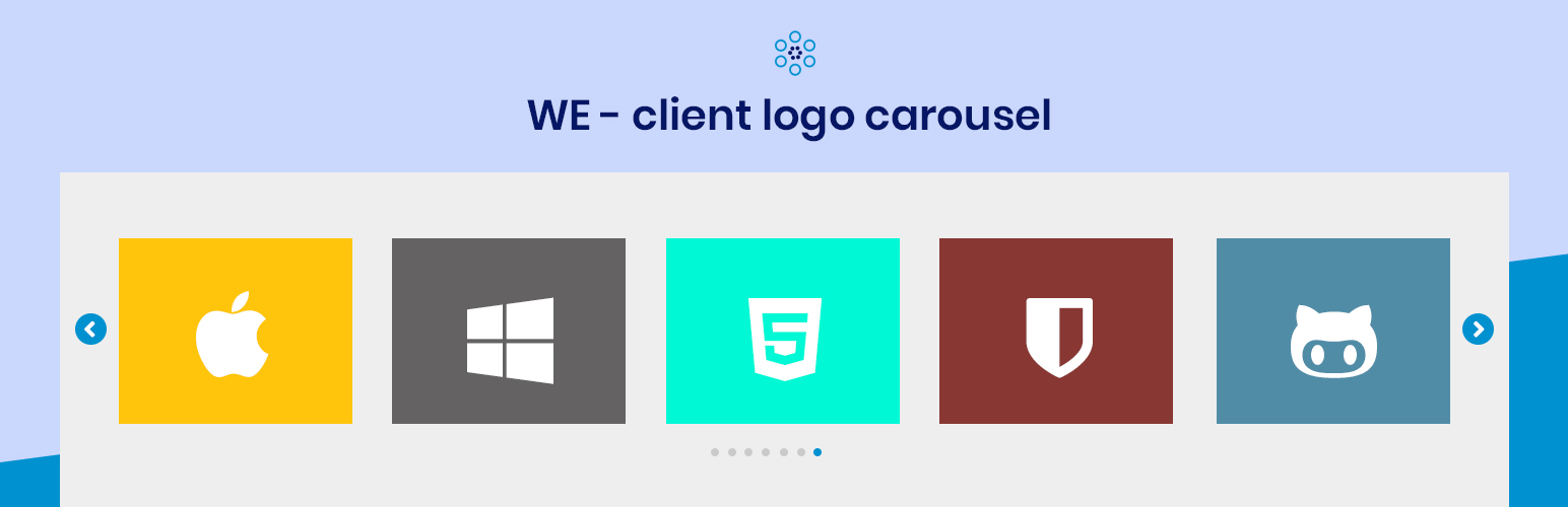WE – Client Logo Carousel