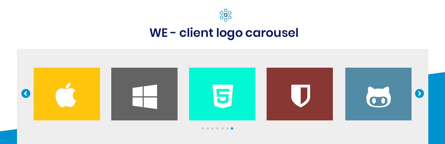 WE - Client Logo Carousel