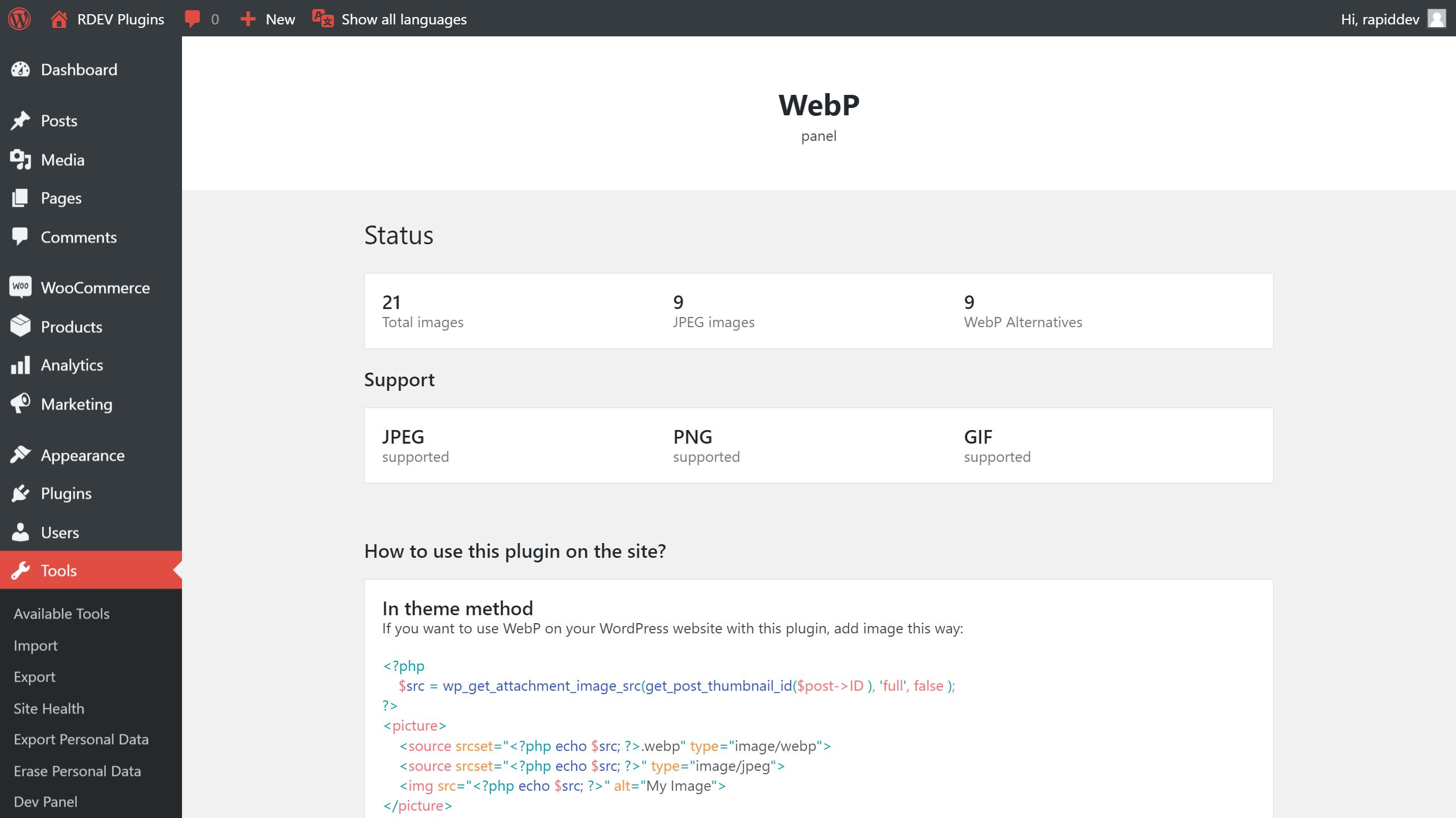 WebP Image – Convert PNG, GIF & Jpeg to WebP