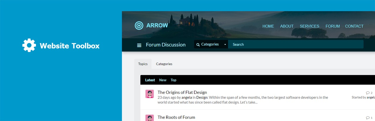 Website Toolbox Forum – WordPress plugin | WordPress org