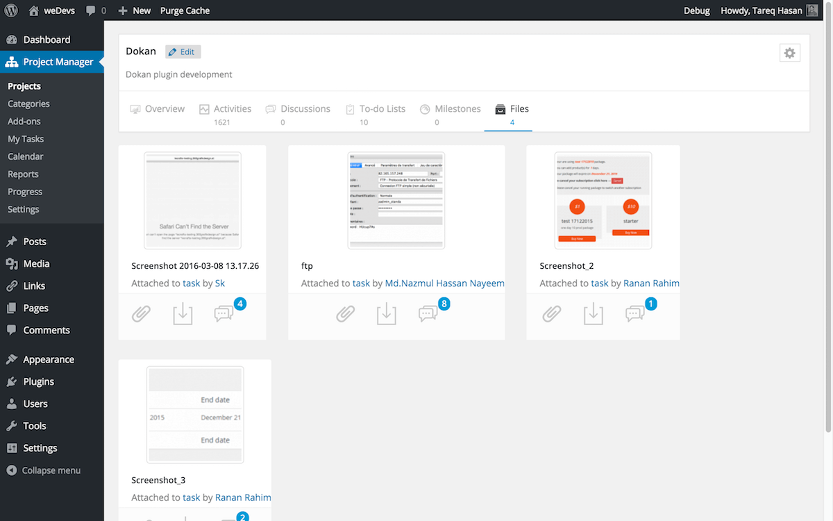 wedevs-project-manager screenshot 11