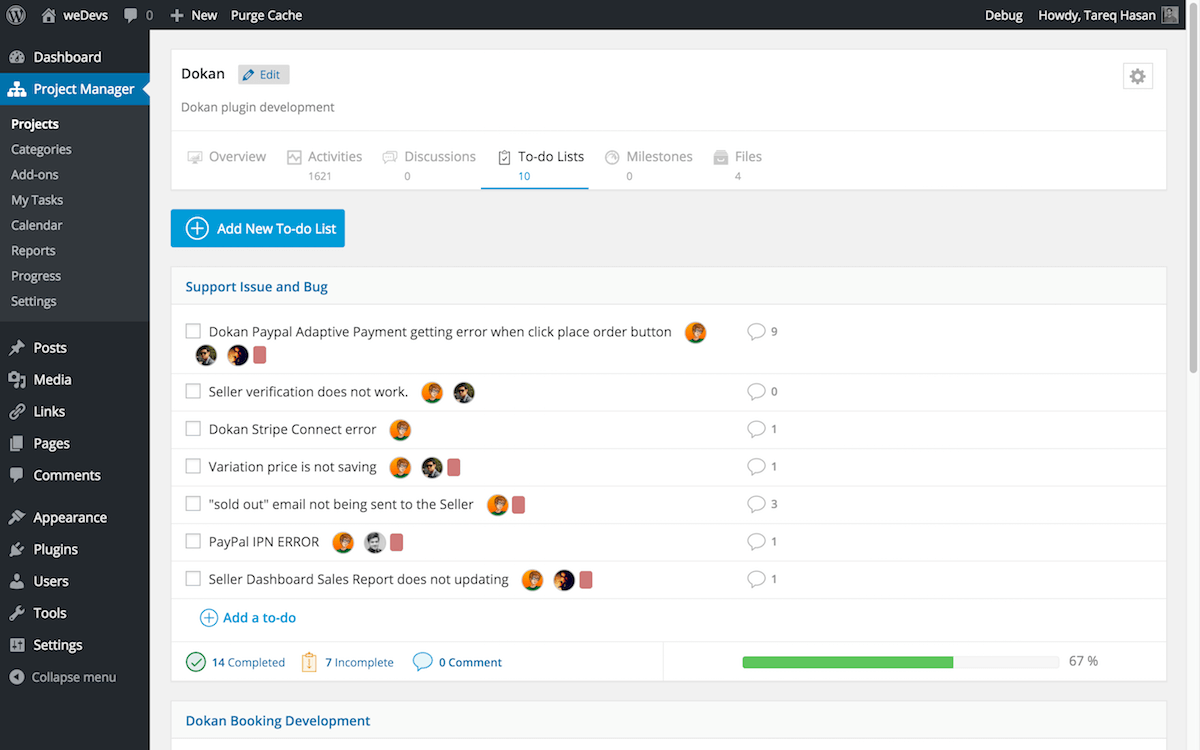 wedevs-project-manager screenshot 5