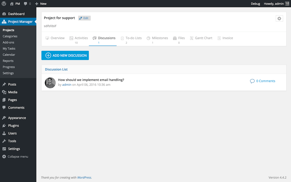 wedevs-project-manager screenshot 8