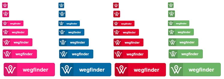 Vordefinierte Button Desigs und Beispiele für individuelle Buttons.