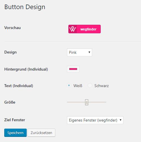Button Design wählen