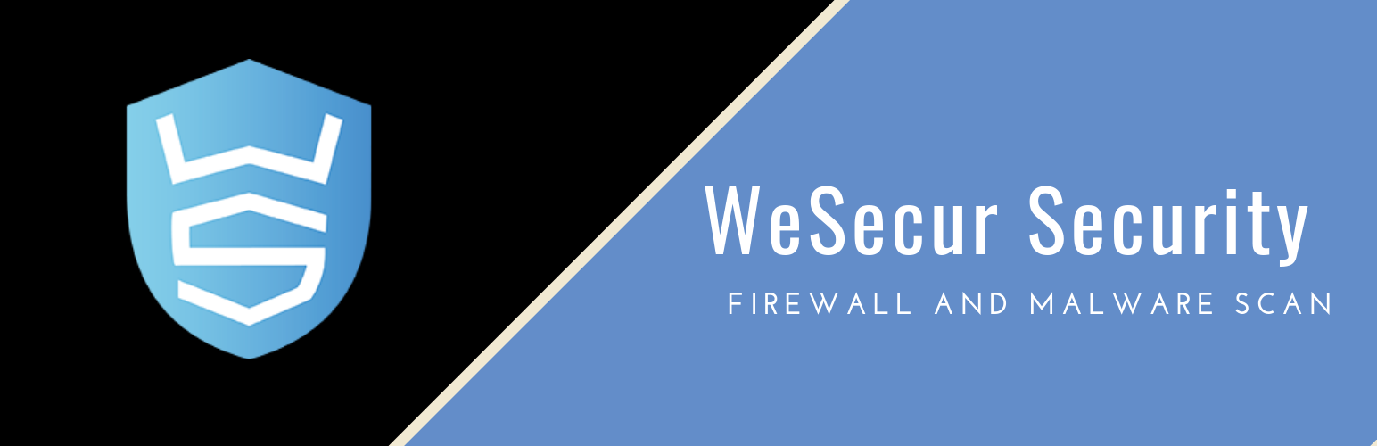 WeSecur Security – Antivirus, Malware Scanner and Protection for your WordPress