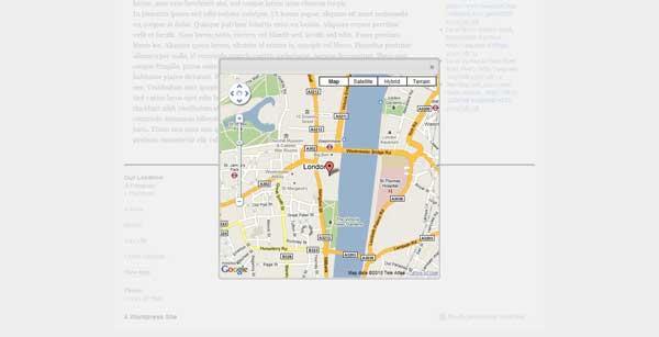 Map displayed