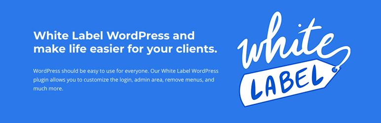 White Label – WordPress Custom Login Page, Dashboard, and Admin