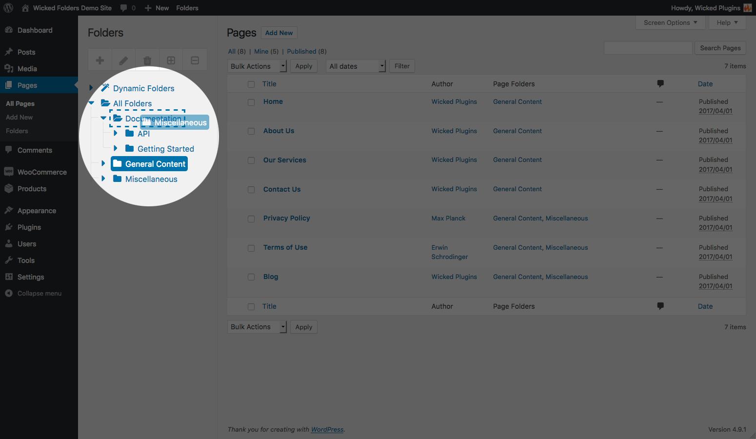 Wicked Folders – WordPress plugin   WordPress org