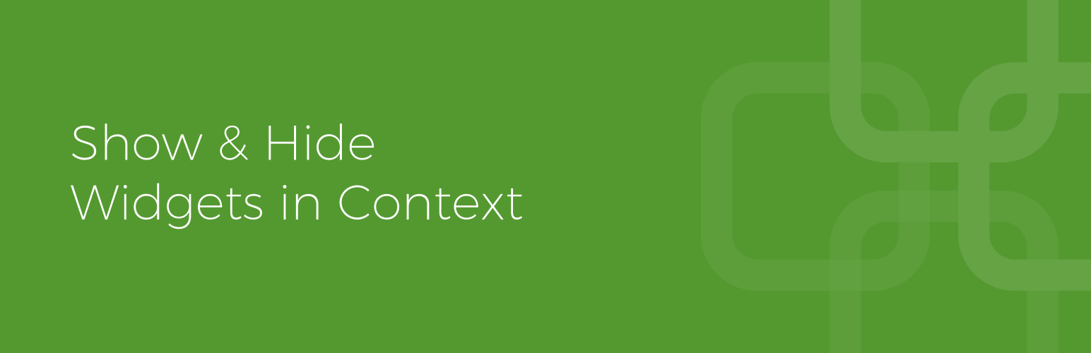 Widget Context – WordPress plugin | WordPress org