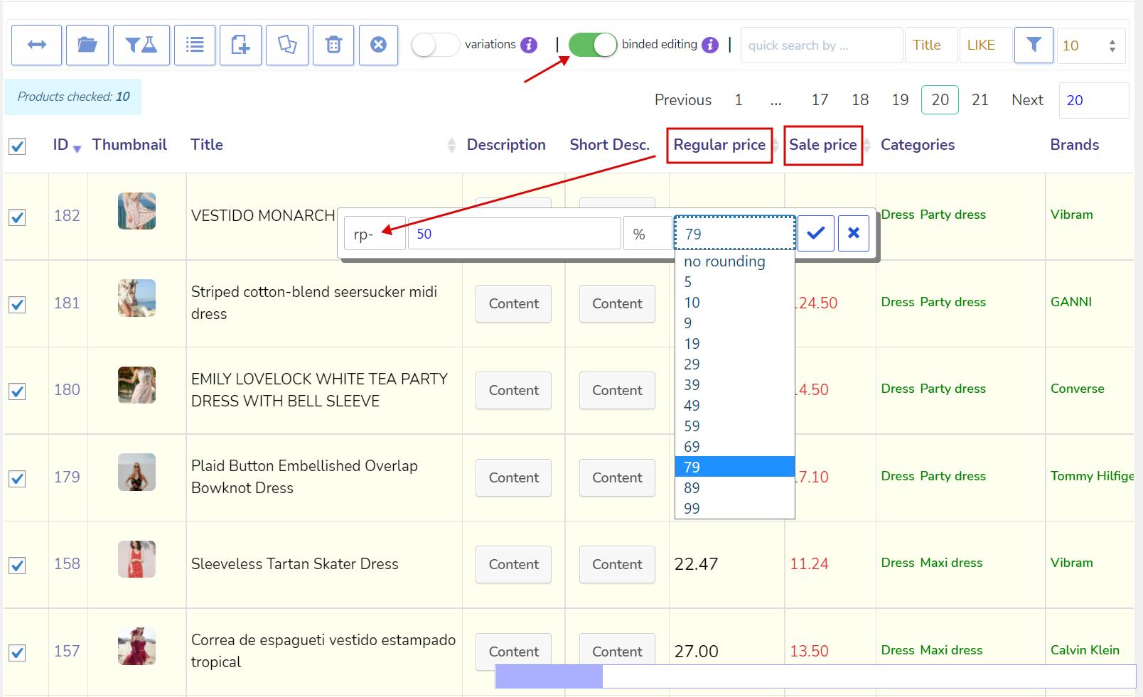 Edit Wc Papier.Woobe Products Bulk Editor For Woocommerce Wordpress