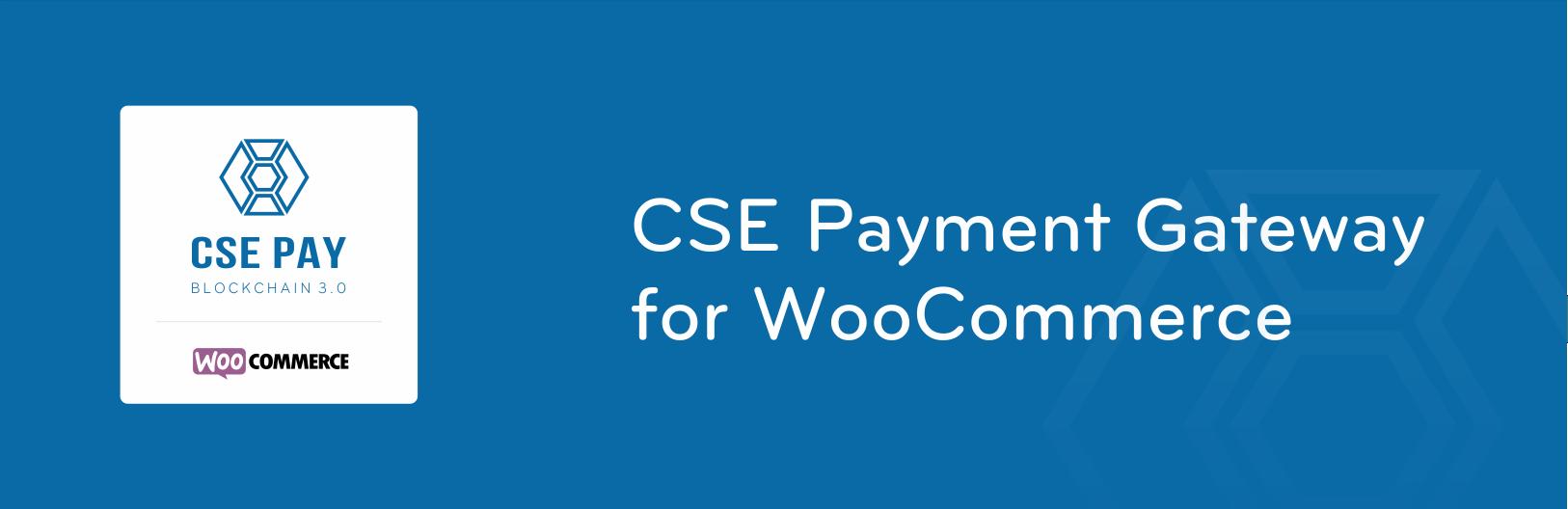 WooCommerce cse payment gateway